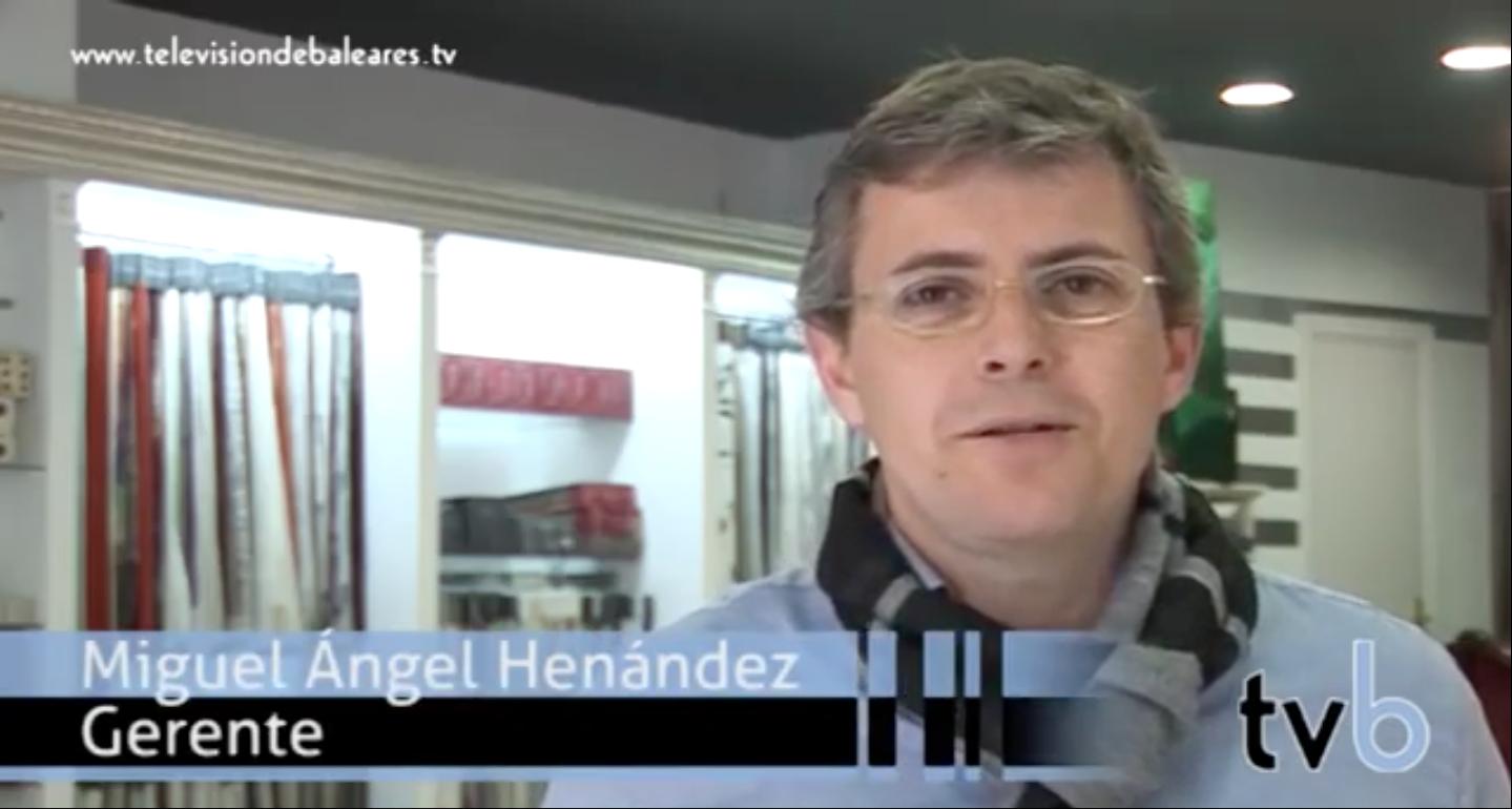 Tapicerías Hernández en TVBaleares